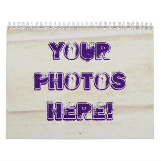 Haga su propio ~ 2012 del calendario