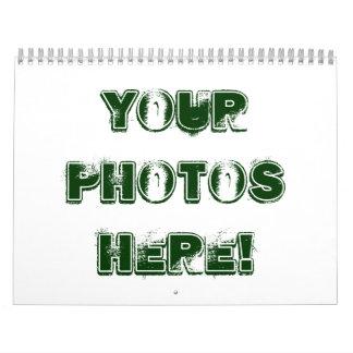 ¡Haga su propio ~ 2012 del calendario! Calendario De Pared