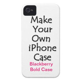 Haga su propio Blackberry el caso intrépido Case-Mate iPhone 4 Protector