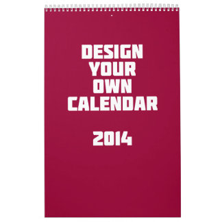 Haga su propio calendario de encargo 2014