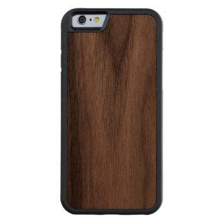 Haga su propio Carved® de encargo el caso de Funda De iPhone 6 Bumper Nogal