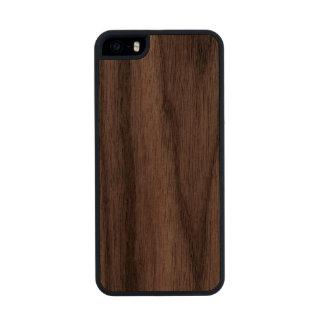 Haga su propio Carved® delgado el iPhone de madera Funda De Nogal Carved® Para iPhone 5