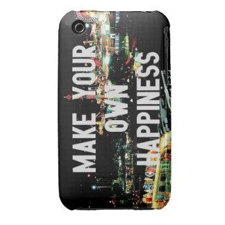 Haga su propio caso del iPhone 3g de la felicidad iPhone 3 Case-Mate Cárcasas