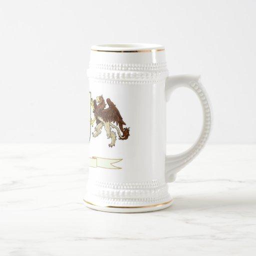 Haga su propio escudo Drinkware de la familia Tazas De Café