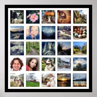 Haga su propio estilo de la galería de fotos de póster