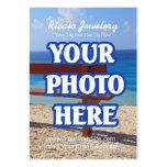 Haga su propio fondo del pendiente plantillas de tarjetas de visita