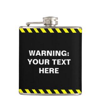 Haga su propio mensaje de alerta petaca
