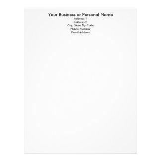 Haga su propio papel con membrete, plantilla del p membrete personalizado
