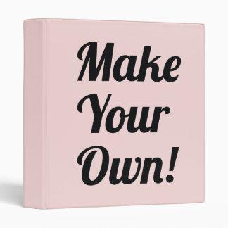 """Haga su propio personalizado impreso carpeta 1"""""""