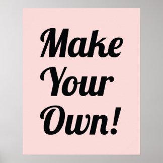 Haga su propio personalizado impreso impresiones