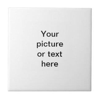 Haga su propio personalizado personalizado azulejo cuadrado pequeño