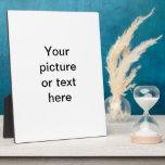 Haga su propio personalizado personalizado placas de plastico