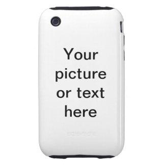 Haga su propio personalizado personalizado tough iPhone 3 carcasa
