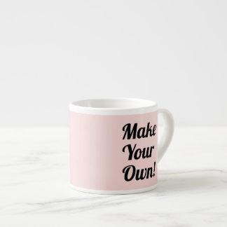 Haga su propio regalo de encargo taza espresso