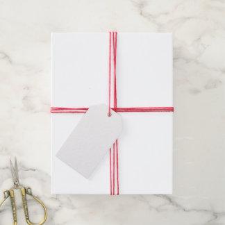 Haga su propio sistema de encargo de 10 etiquetas etiquetas para regalos