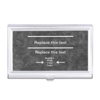 Haga su propio tenedor de la tarjeta de visita caja de tarjetas de visita