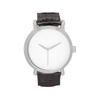 Haga su propio vintage el reloj de la correa de