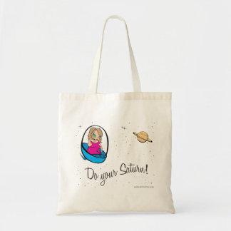 ¡Haga su Saturn! Bolsa Tela Barata