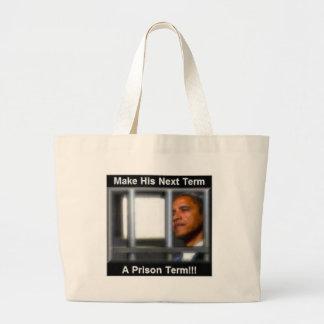 Haga su término siguiente una condena de prisión bolsa lienzo