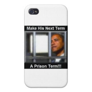 Haga su término siguiente una condena de prisión iPhone 4 funda