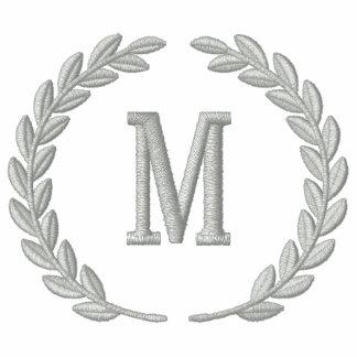 Haga sus laureles personalizados del monograma el  polo