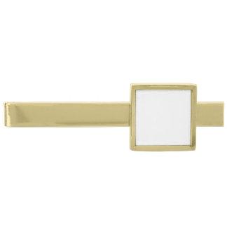 Haga sus propias barras de lazo plateadas oro alfiler de corbata dorado
