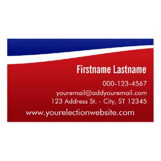 Haga sus propias tarjetas de visita - candidato