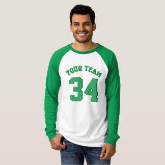 Haga sus propios deportes del verde del jersey su