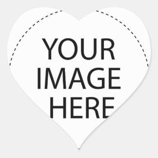 Haga sus propios diseños colcomanias de corazon personalizadas