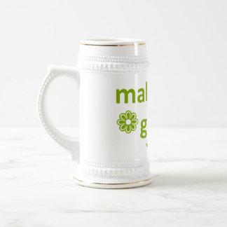 haga tierra una taza de café más verde