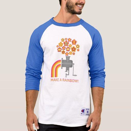 ¡Haga un arco iris! Camisetas