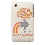 ¡Haga un arco iris! iPhone 3 Carcasa