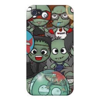 Haga un caso #1 del iPhone 4/4S del zombi iPhone 4/4S Carcasas
