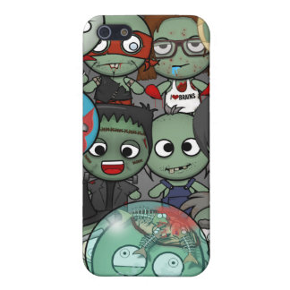 Haga un caso #1 del iPhone 4/4S del zombi iPhone 5 Protectores