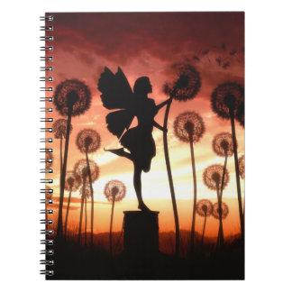 Haga un cuaderno de la hada del deseo