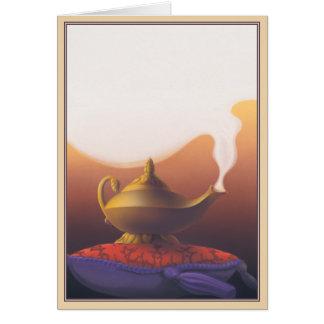 Haga un © del deseo tarjeta de felicitación