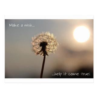 Haga un deseo postales