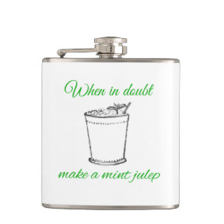 Haga un frasco del Julep de menta