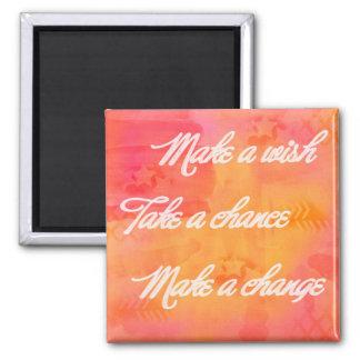 Haga un imán del cambio