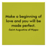Haga un principio de amor y de usted w… - Modifica Impresiones