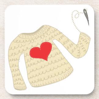 Haga un suéter posavasos de bebida