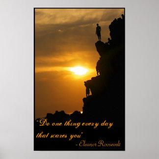 Haga una cosa cada día que los sustos usted impresiones