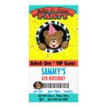 Haga una invitación del fiesta del oso tarjeta personal
