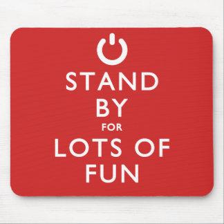 ¡Haga una pausa para las porciones de diversión! Tapete De Ratón