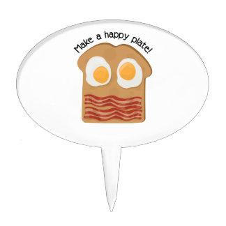 ¡Haga una placa feliz! Palillos De Tarta