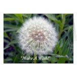 Haga una tarjeta de felicitación del deseo