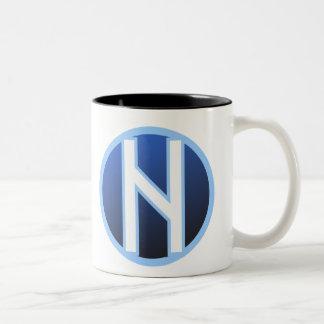 Hagalaz Haegl Rune Two-Tone Coffee Mug