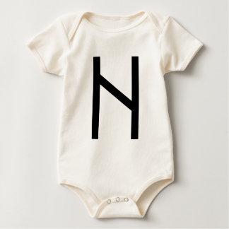 HAGALAZ RUNE BABY BODYSUIT