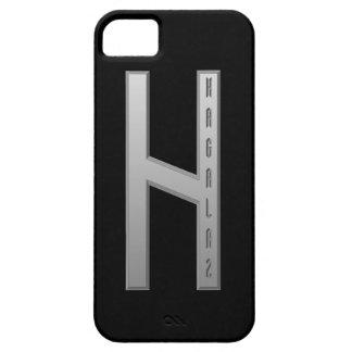 Hagalaz Rune grey iPhone SE/5/5s Case