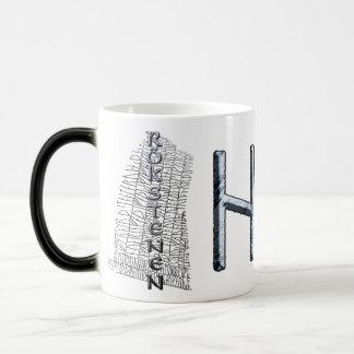 Hagalaz rune mug